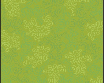 Art Gallery Fabrics Nature Elements Green Tea (NE-112) 1/2 Yard Increments