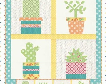 Prickly Plant Quilt Pattern