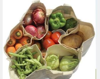 Veggie Farmer/'s Market BagTote--Large **SALE**
