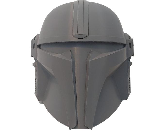 Featured listing image: The Gunny Bounty Hunter Helmet Kit RAW 3D Print