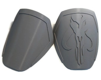Mandalorian Mythosaur Pauldrons Armor Kit 3D Printed