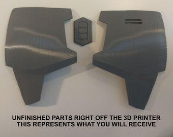 Unfinished Mandalorian Body Armor 8 Piece Kit
