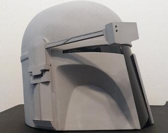 Classic Mandalorian Helmet Kit Ready To Paint