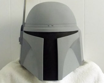 Unfinished Jango Fett Mandalorian Bounty Hunter Helmet Kit 3D Printed