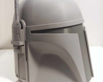 Deluxe Classic Mandalorian Helmet Kit Ready To Paint