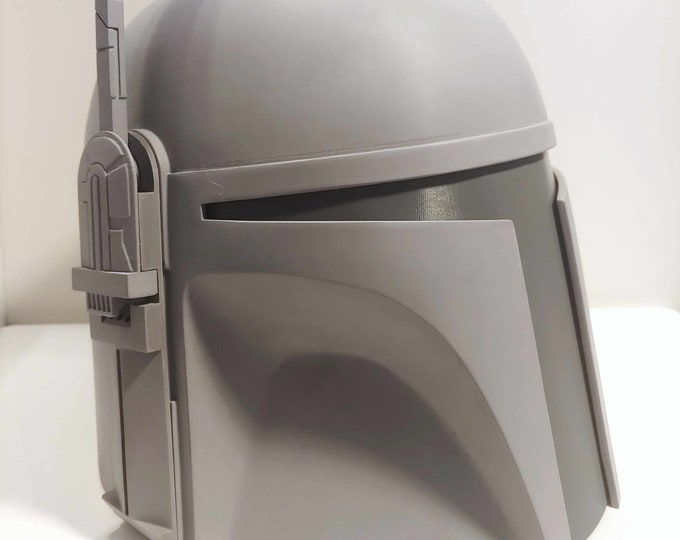Featured listing image: Deluxe Classic Mandalorian Helmet Kit Ready To Paint