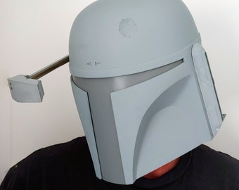 Deluxe Mandalorian Helmet Kit Ready To Paint