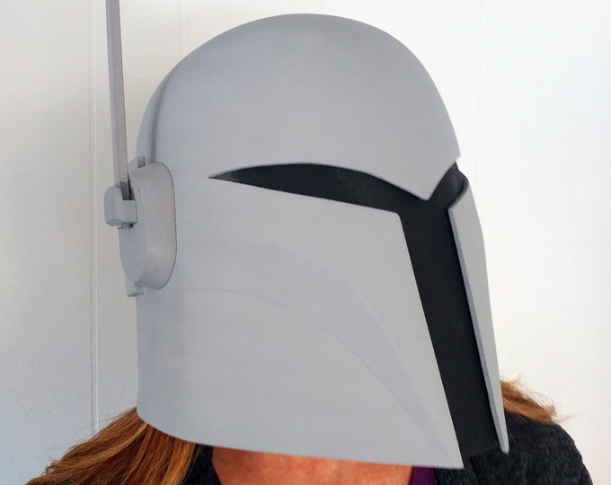Featured listing image: Sabine Wren Mandalorian Bounty Hunter Helmet Kit 3D Printed Ready To Paint