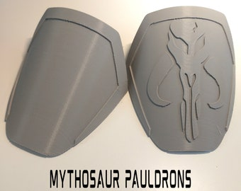 Mandalorian Mythosaur Pauldron Armor Kit Ready To Paint