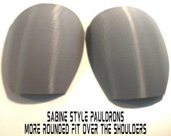 Sabine Wren Pauldrons Armor Kit 3D Printed