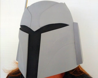 Ursa Wren Mandalorian Bounty Hunter Helmet Kit 3D Printed Ready To Paint
