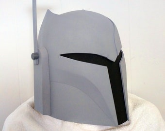 Unfinished Ursa Wren Mandalorian Bounty Hunter Helmet Kit 3D Printed