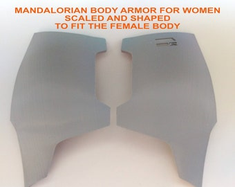 Female Mandalorian Chest Plate Armor Kit 3D Printed