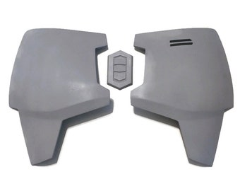 Mandalorian Chest Plate Armor Kit Ready To Paint