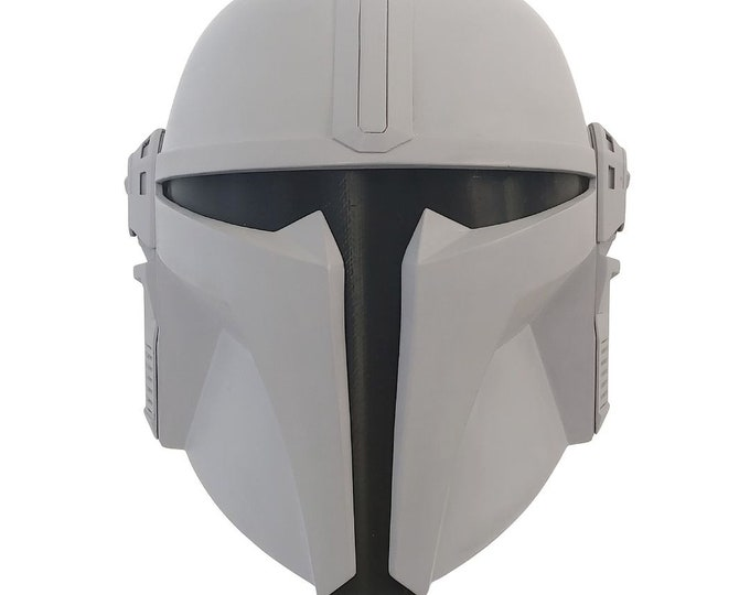 Featured listing image: The Gunny Bounty Hunter Helmet Kit 3D Printed Ready To Paint