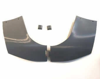 Unfinished Mandalorian Collar Plate Kit