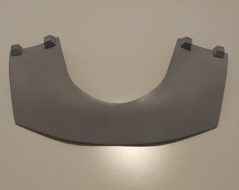 Mandalorian Collar Plate Armor Kit 3D Printed Ready To Paint