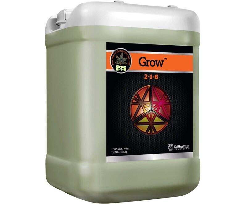 Cutting Edge Solutions GROW 2-1-6 American Made Nutrients Santa Rosa California