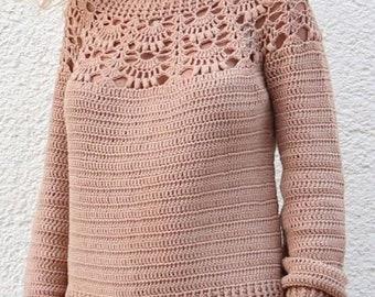 SWEATER CITY, PDF, Patron Ganchillo jersey, Crochet Pattern, Motivo all'uncinetto maglia, Padrão de crochê suéter, Esquema, Scheme, Schema.