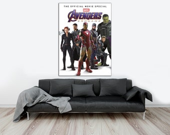 """Avengers End Game Poster Chinese Hawkeye Movie Print Size 11x17/"""" 14x21/"""" 18x24/"""""""