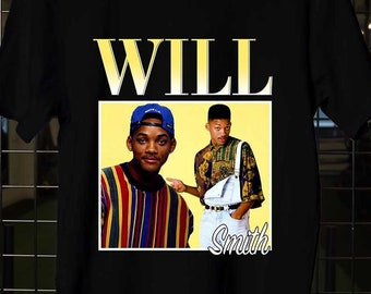 05761cee3cca Will Smith The Fresh Prince Of Bel Air, Will Smith Actor, Will Smith t shirt,  Will Smith shirt, Unisex Adult Clothing, Size S-XXL