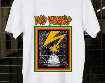 d51cb860c063 No More Minor Bad Brains, Bad Brains Band, Bad Brains t shirt, Bad Brains  tshirt, Bad Brains shirt, Unisex Adult Clothing, size S-XXL