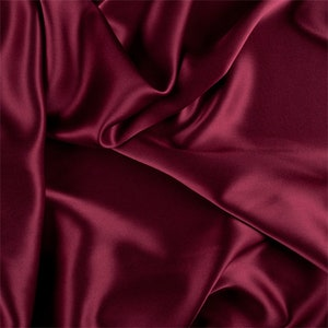 Dresses. Charmeuse Stretch Silky Soft Satin Sold By The Yard Fabric 60 Wide Inches  Used for Decorations PINK French Clothing,Wedding