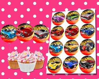 Hot Wheels Birthday Decorations Etsy