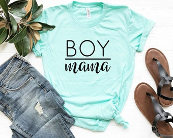 3357d9394881a Boy Mama, mom shirt, mommy and me shirts, mothers day gift, raising little  gentlemen, mom life, mother's day gift, mom shirt, gender shirt