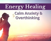 Energy Healing for Anxiety Relief, Calm Mind, Reiki Healing, Self Care Gift, Energy Cleanse, Relaxation, Clear mind, Healing Session