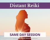 SAME DAY Reiki Distant Healing Session, Chakra Balance, Energy Healing for Wellbeing, Distance Reiki, Wellness Gift For Women, Self Care