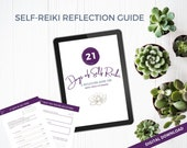 Reflection Journal | Reiki tools | Instant Download | Self Healing