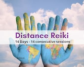 DISTANT REIKI 14 Days - 14 Personalised Sessions