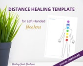 DISTANCE HEALING TEMPLATE (Left Handed)