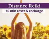 Distance Reiki Session, 10 Min Reiki Blast, Distance Energy Healing, Reiki for Chakra Balancing and Wellbeing, Self Love Gift, Reiki Balance