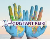 Daily DISTANT REIKI, Self Care Gifts, Distance Energy Healing, Chakra balancing, Wellbeing Gifts, Healing gift for Her, Personal Development