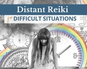 Reiki Distant Healing Session for Challenging Situations, Peace of Mind, Harmony, Chakra Balance, Distance Reiki, Self Care, Oracle card