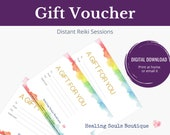 Distance Reiki GIFT VOUCHER, Energy Healing & Self Care Gifts, Intuitive healing for Wellbeing, Unique Gift for Best Friend
