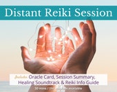 Distance Reiki Healing Session, Chakra Balancing, Energy Healing for Empowerment,  Self Care Gift For Women, Unique Wellness Gift For Empath