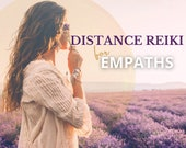 Distance Energy Healing, Empath Protection, Reiki Healing Distance, Energy Clearing, Chakra Balancing, Cord Cutting, Highly Sensitive Person