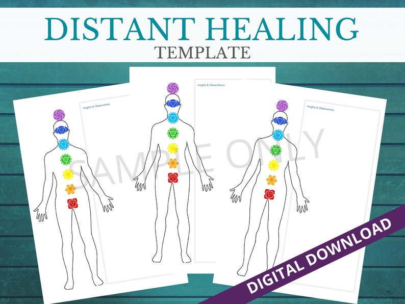 DISTANCE HEALING TEMPLATE image 0