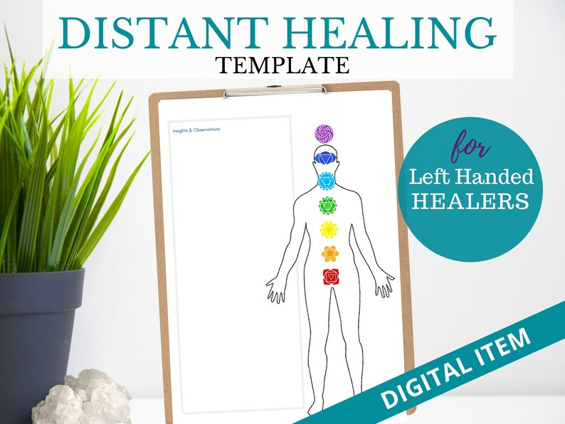 DISTANCE HEALING TEMPLATE Left Handed Energy Healing Proxy image 0