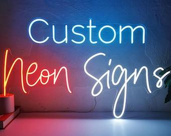 Custom Neon Sign Etsy