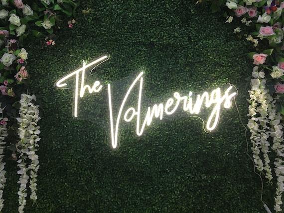 Wedding Custom Neon Sign Flex Led Neon Light Sign Led Logo   Etsy