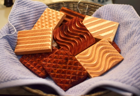 Wooden Soap Dishes. Eco-Friendly Soap Container. All Natural Hardwood Product. Made in USA