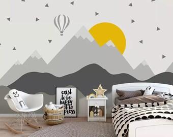 Attrayant Kids Room Wallpaper | Etsy