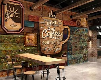 Coffee Wallpaper Etsy