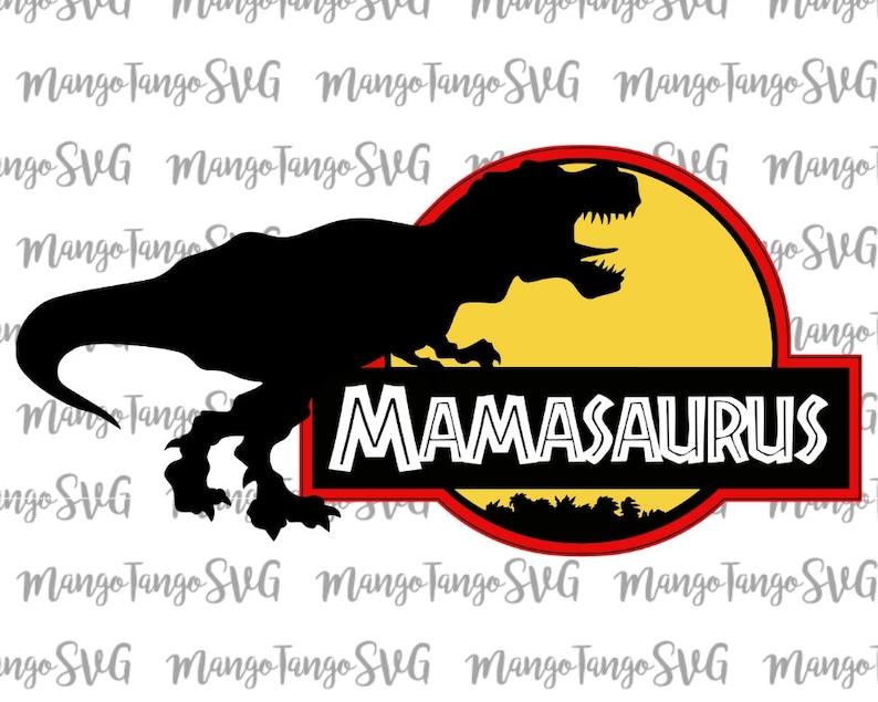 Mamasaurus Dinosaur Svg Design Dinosaur Svg Svg File For Etsy