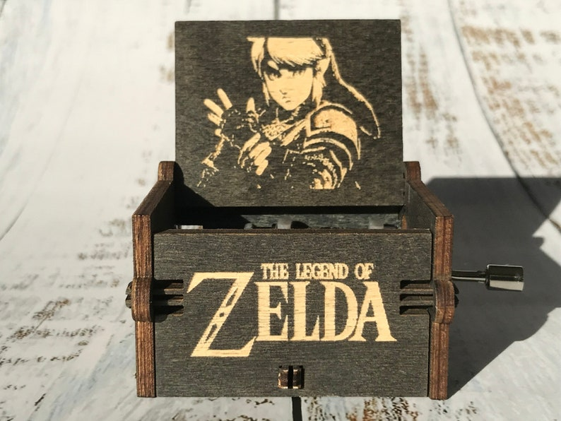 Song of Storms from The Legend of Zelda: Ocarina of Time Wooden Music Box