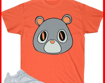 35c7a4c1 Yeezy Boost 700 Inertia Sneaker Match T-Shirt Yeezy Bear V1 Orange - Shirt  Unisex Heavy Cotton Tee Bella + Canvas